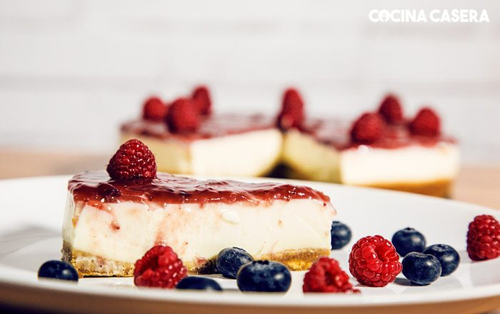 Cold cheesecake without oven