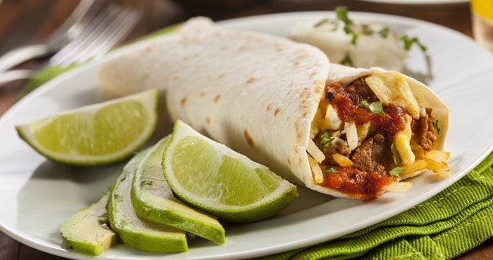 burritos receta mexicana