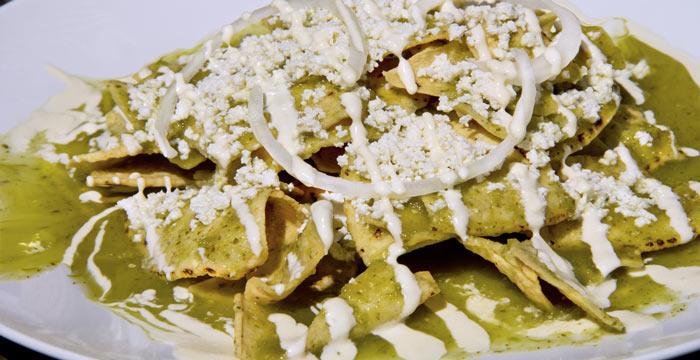 Chilaquiles Verdes Receta Mexicana Fácil
