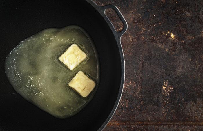 derretir mantequilla
