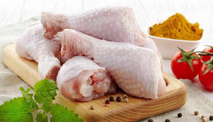 piernas de pollo