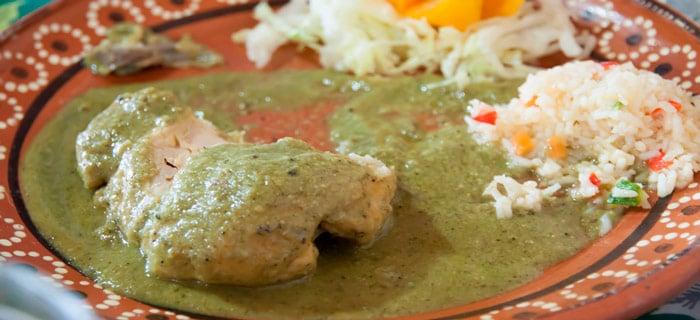 Pollo En Salsa Verde Receta Mexicana