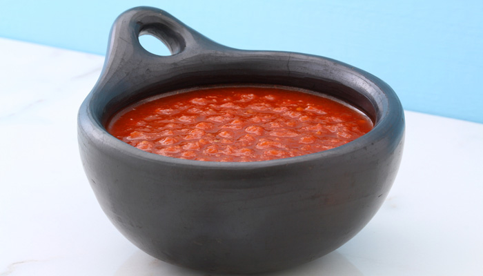 salsa roja preparada