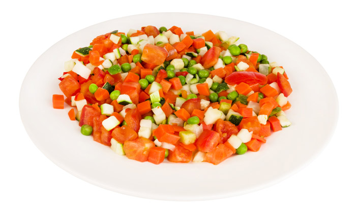verduras picadas