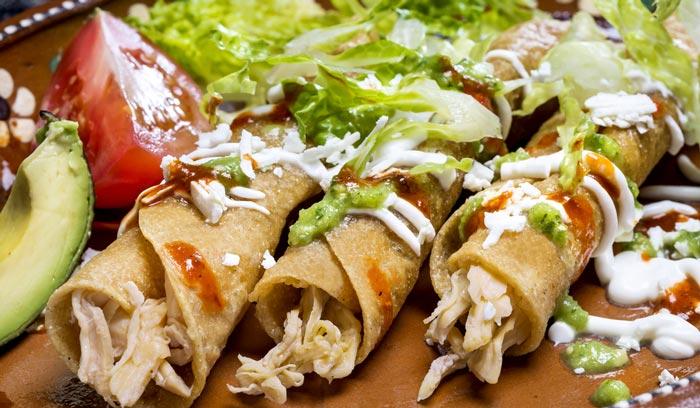 Tacos dorados de pollo calories - Tacos mexicanos de pollo ...
