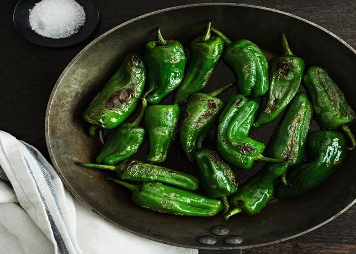 asar chiles poblanos