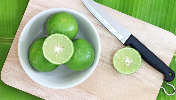 cortar limones
