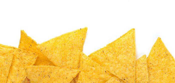 tortillas en triangulos