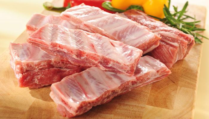costillas de cerdo