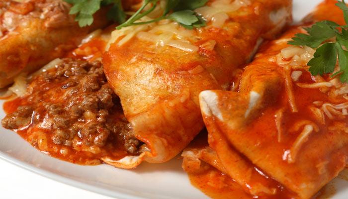 enchiladas carne molida
