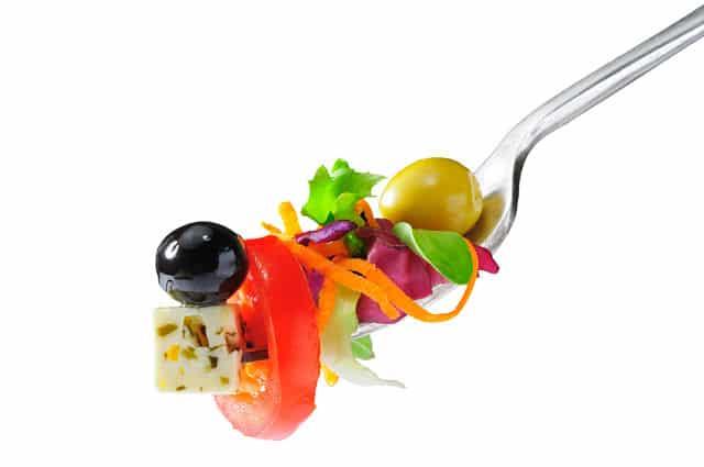 tenedor de ensalada