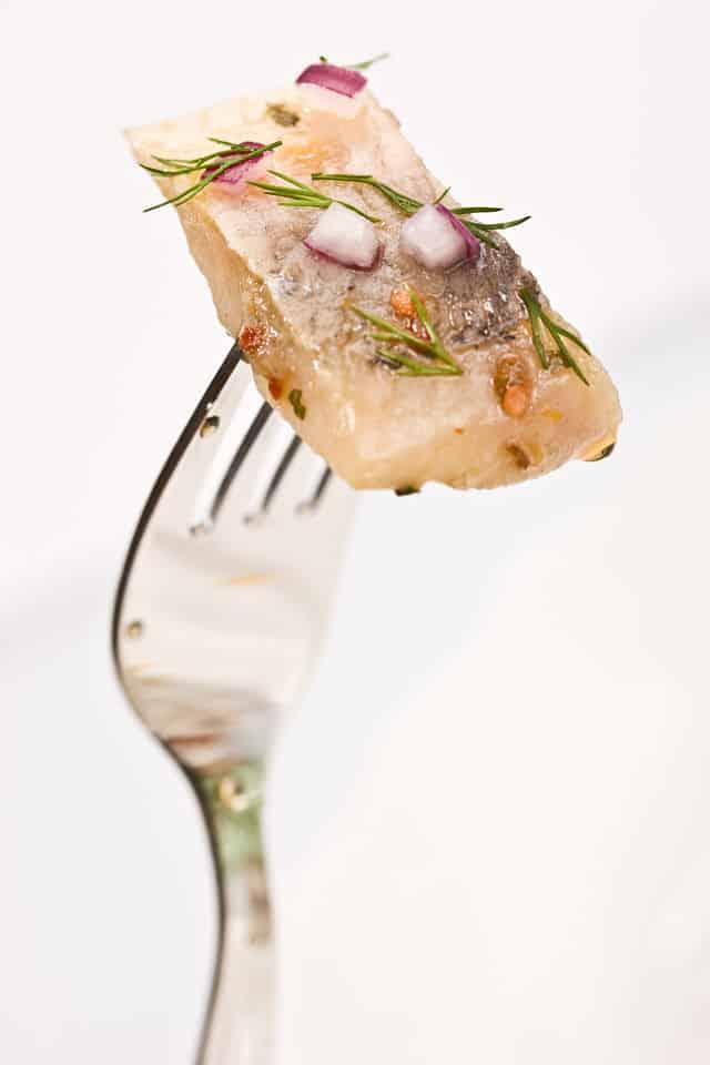 tenedor para pescados