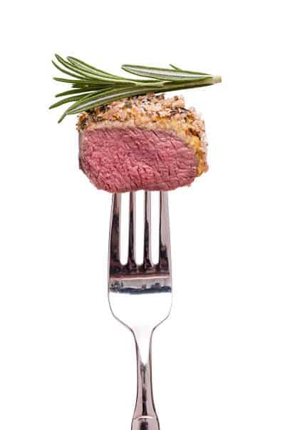 tenedor principal carne