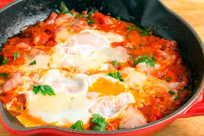 Huevos a la Provenzal