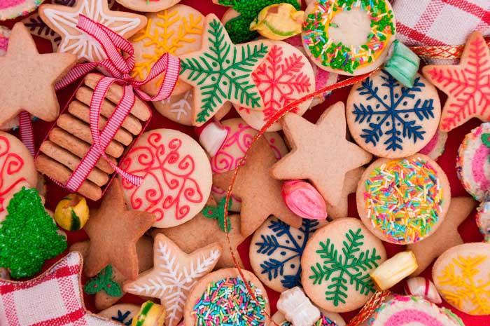 Galletas de Mantequilla con formas y colores- Recetas de galletas
