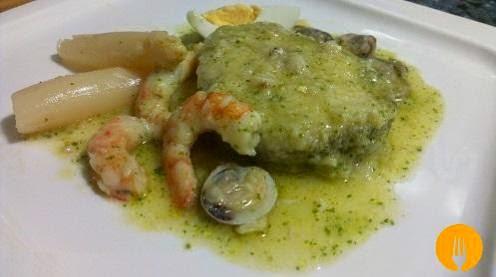 Pescadilla o Merluza en Salsa Verde