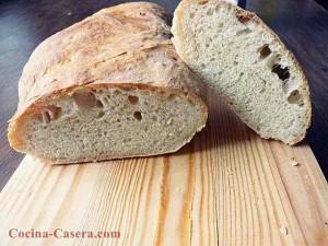 Pan de Chapata casero. Receta fácil