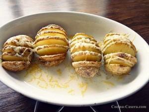 Patatas al Horno con Queso Emmental