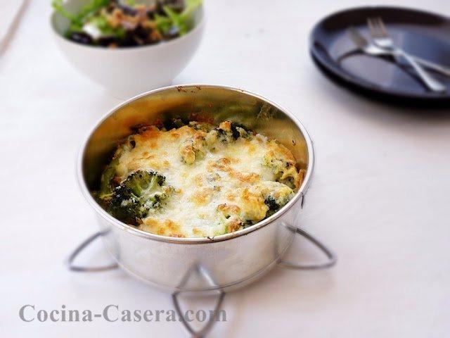Frittata de brócoli. Receta fácil y rápida