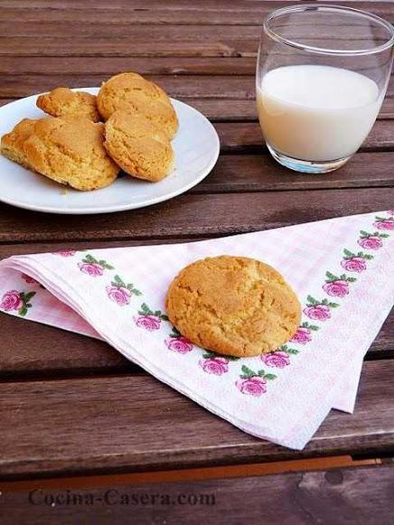 Galletas de Mantequilla Clásicas. Receta muy Fácil -Recetas de galletas