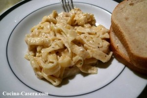 Salsa Fetuccini Alfredo