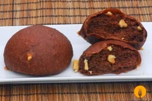 Doowaps de cacao con chocolate blanco