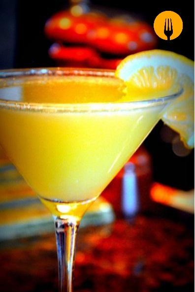 Cóctel de naranja en batidora y thermomix -Menú para el Día del Padre