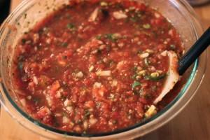 ¿Que significa desglasar una salsa?