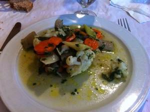 ¿Qué es un panaché de verduras?