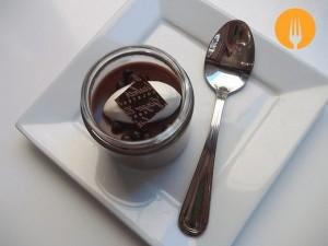Natillas de chocolate