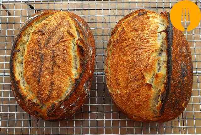 Pan de arroz y trigo