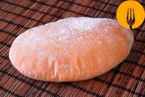 Pan de pita casero. Receta fácil