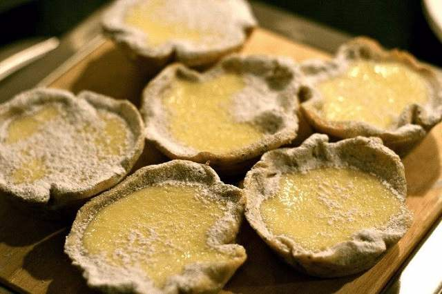 Tartaletas de limón y merengue caseras