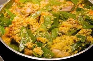 Paella original: Ingredientes