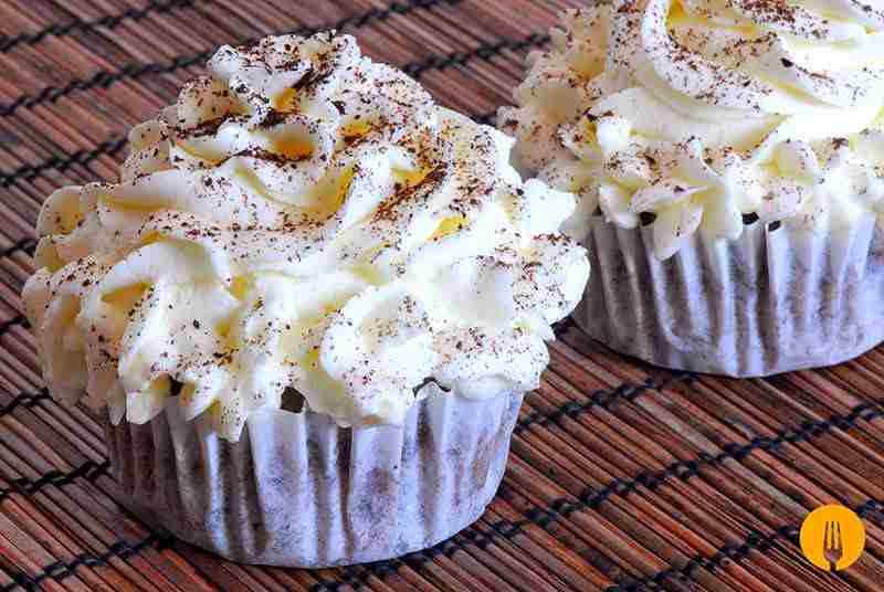 Cupcakes caseros de galletas Oreo