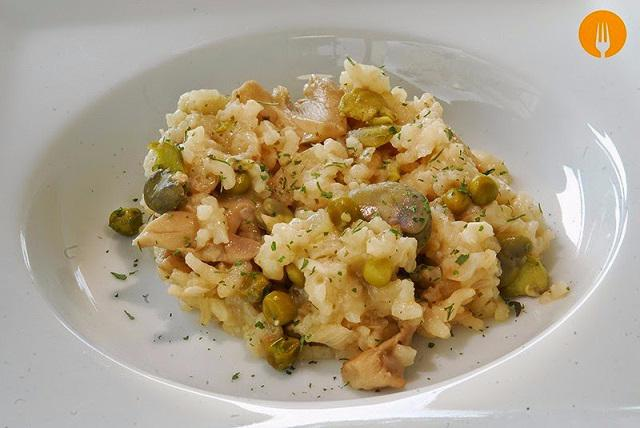risotto habas