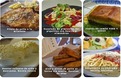 Recetas de comidas r pidas recetas de cocina casera for Comidas rapidas caseras