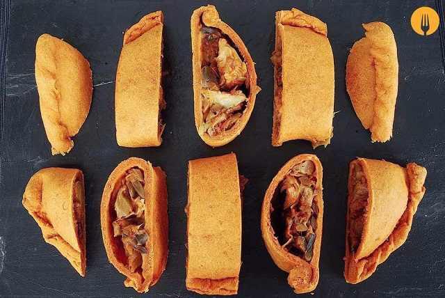 Empanadas de champiñones