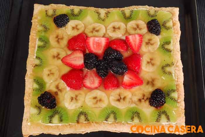 Tarta de Hojaldre de frutas