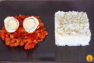 Huevos al curry