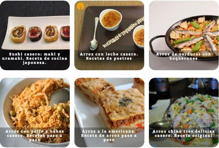 Recetas con arroz fáciles