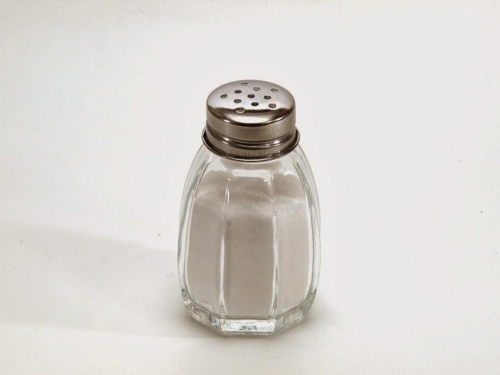 Cuidado con el exceso de Sal