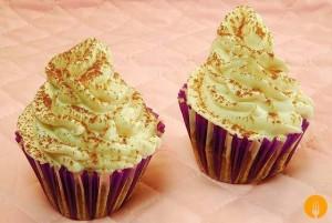 Cupcakes de capuccino