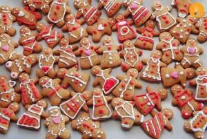 Galletas Gingerbread man fáciles