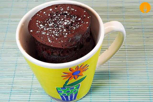 bizcocho a la taza o mug cake