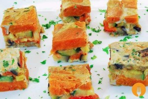Tortilla de hortalizas