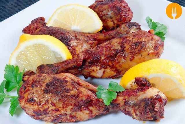 Pollo Tandoori. Receta fácil de Pollo especiado al horno