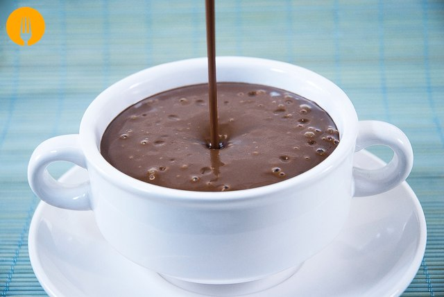 Chocolate casero para Churros y Porras