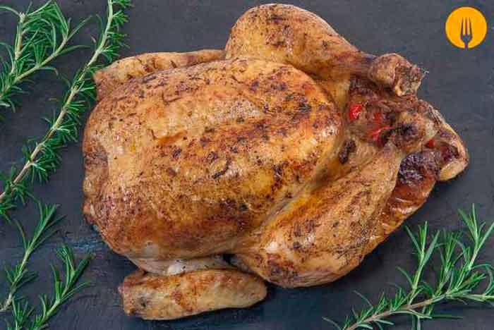 Pollo Relleno Al Horno Receta Fácil