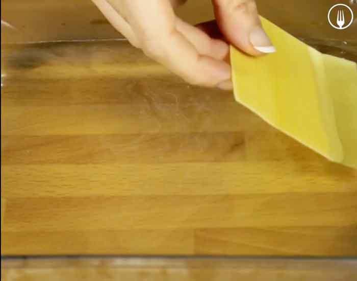 canelones de espinacas con queso